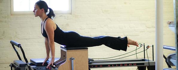 Customized reformer Pilates classes in Burlington, Vermont