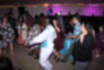 Dancing at reception RM