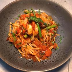 king prawn pasta