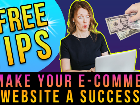 5 Marketing Tips To Make Your         E-Commerce Site a Success