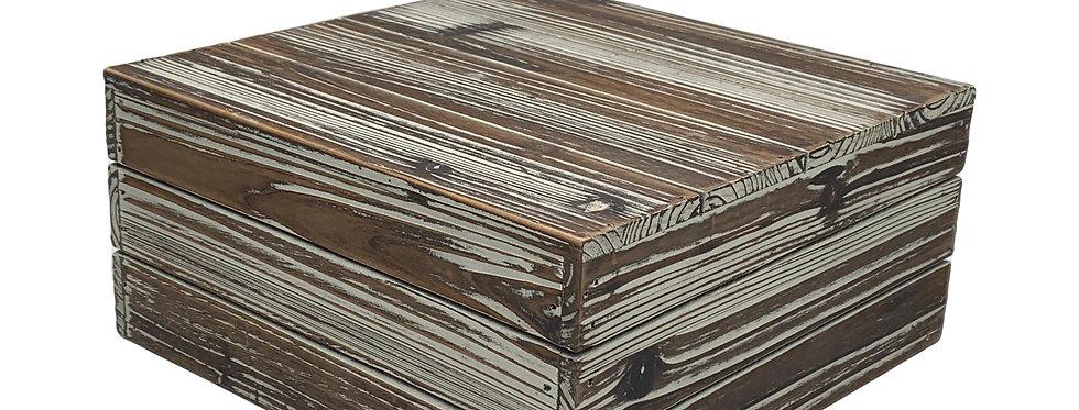 Distressed Wooden Display Riser, Large