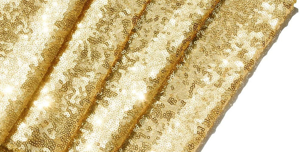 Sequin Table Runner, Gold
