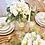 Thumbnail: Lace Table Runner, White