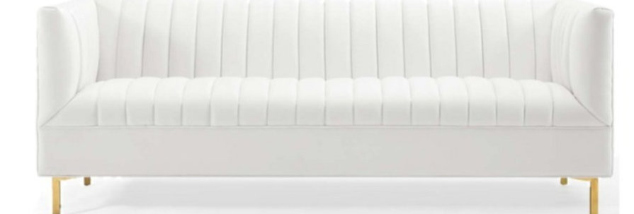 Rose Velvet Sofa
