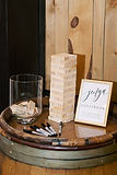 Wedding guestbook table decorations for rent