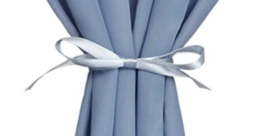 Chiffon Table Runner, Dusty Blue