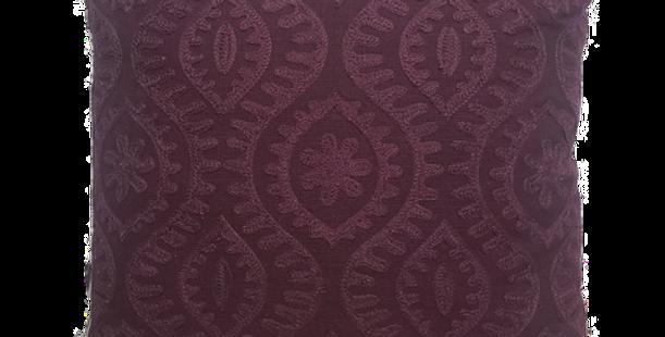 Purple Medallion Pillow