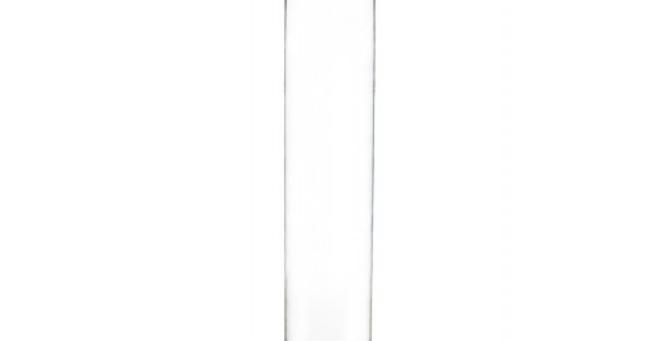 """Glass Cylinder Vase, 22"""""""