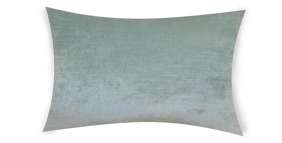 Mint Green Velvet Pillow