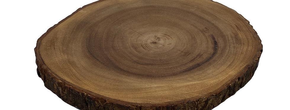 "Natural Wood Round, 12"""