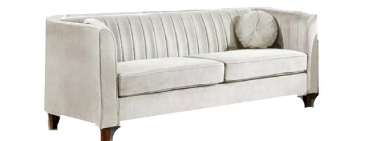 Addison Velvet Sofa