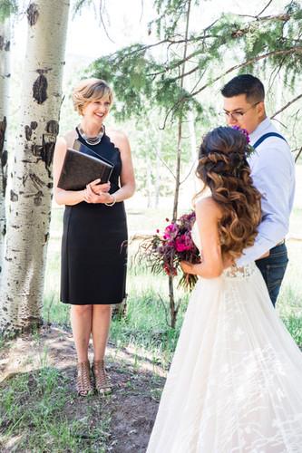 micro wedding officiant