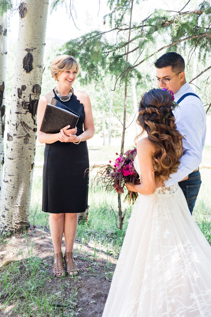 micro wedding officiant