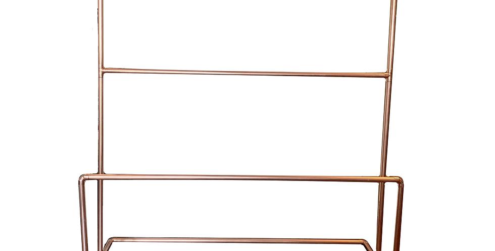 Copper Pretzel Display