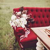 wedding decor furniture burgundy lovesea