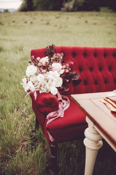 wedding decor furniture burgundy lovesea