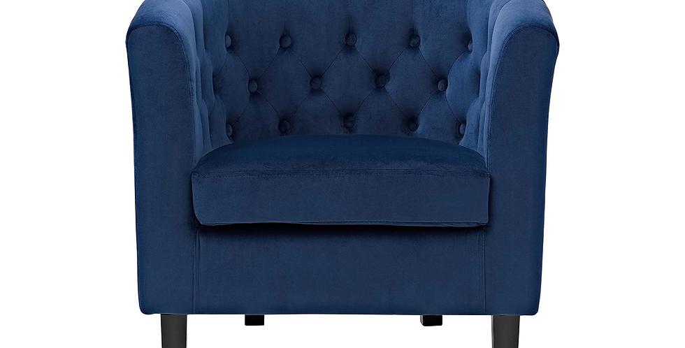 Devin Velvet Arm Chair