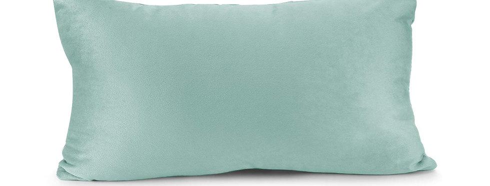 Seafoam Velvet Lumbar Pillow