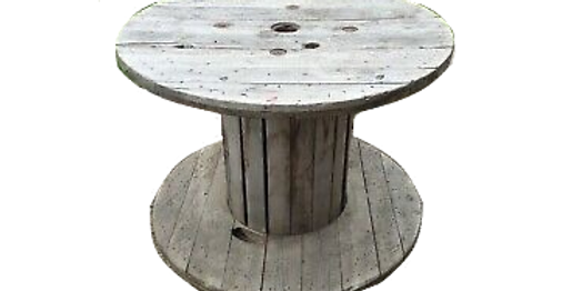Wooden Table Spool