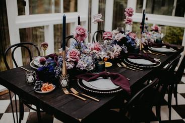 Celestial Wedding Tablescape