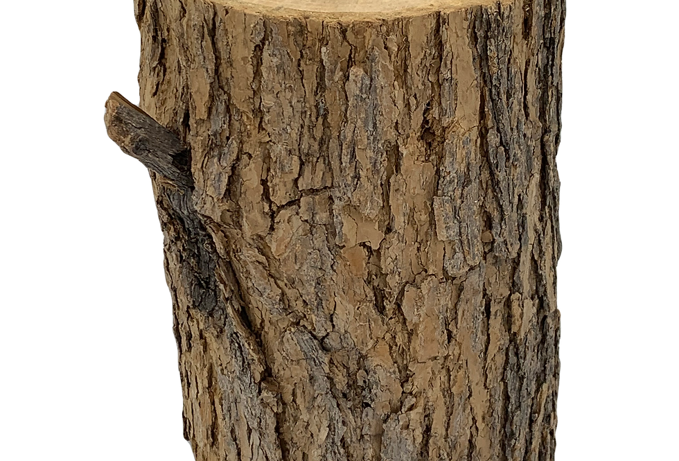 Natural Wood Stump, Medium