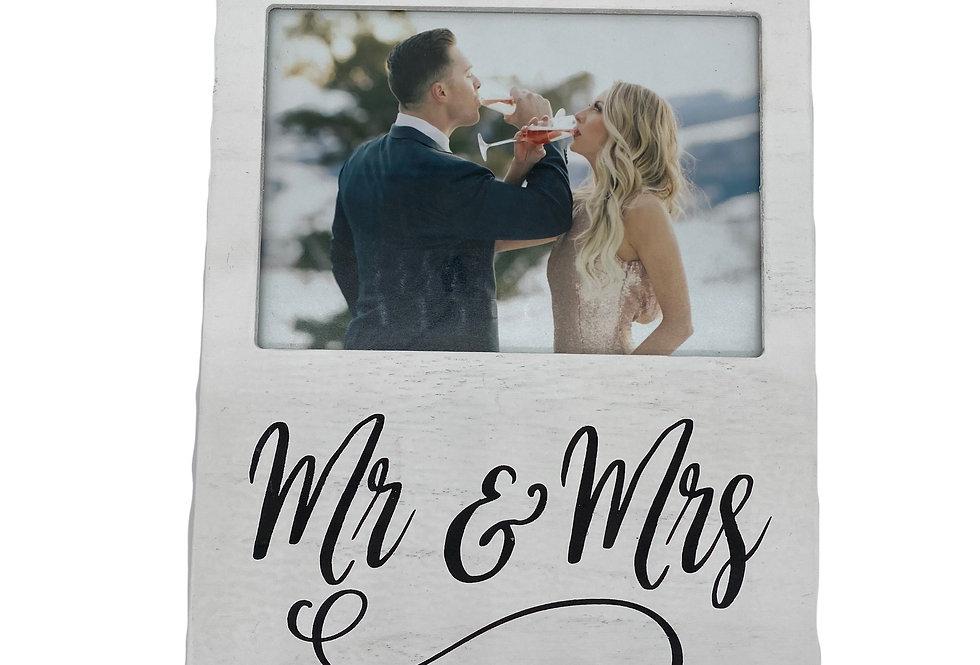 Mr. & Mrs. Wooden Frame
