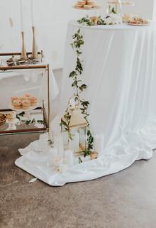 Art Gallery Wedding Dessert Table