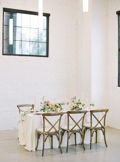 Modern Rustic Tablescape