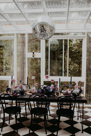 Dark Celestial Reception Table