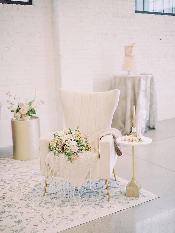 Wedding Lounge Chair Romantic