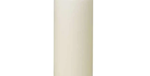 "Slim Pillar Candle, 3"" x 9"" (Color Options Available)"