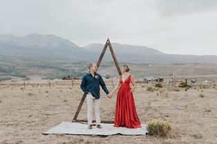 Colorado Barn Wedding Ceremony