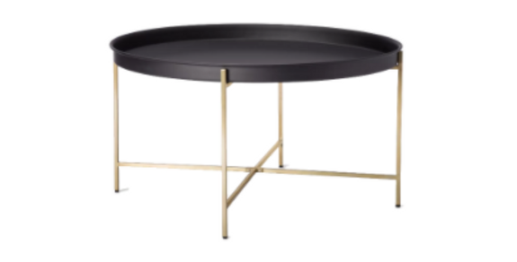 Henley Gold/Black Coffee Table