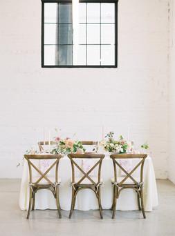Denver Wedding Design Table