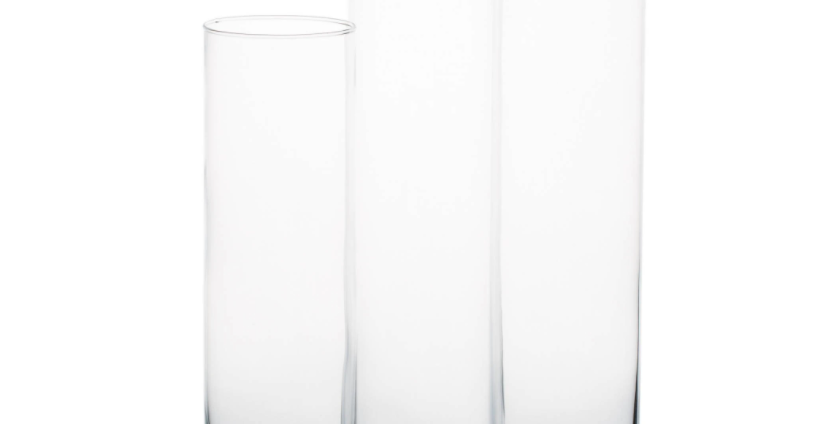 Glass Cylinder Vases
