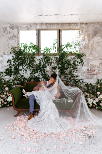 st vrain old world vintage bride and gro