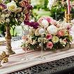 Luxury wedding decoration in the garden.
