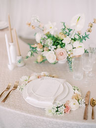 Bree Woolly Romantic Tablescape Wedding