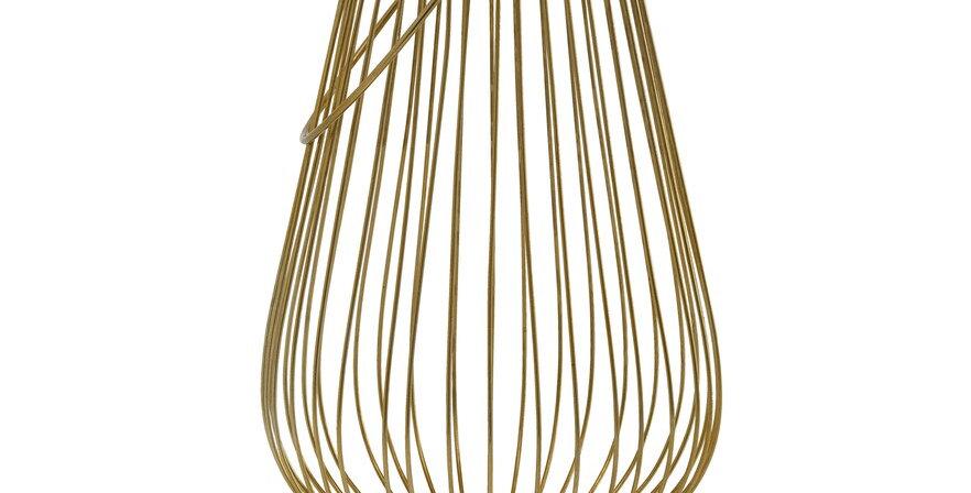 Gold Wire Lantern, Medium