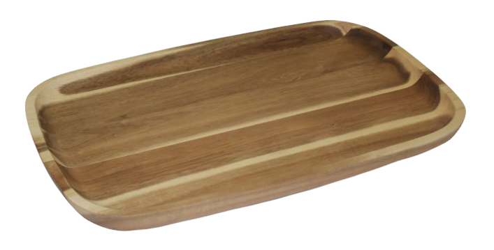 Acacia Wood Serving Tray, Large