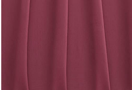 Chiffon Table Runner, Berry