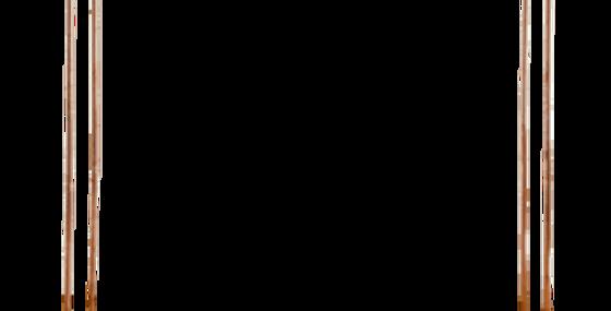 Double Copper Arch, 7'