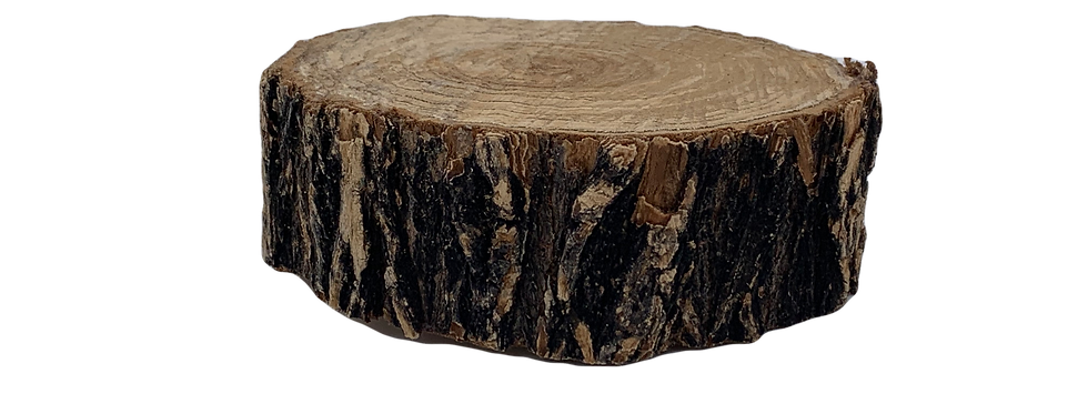 Natural Wood Round, Various Sizes