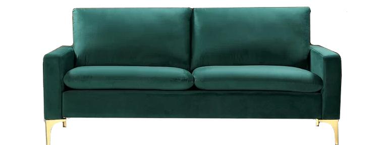 Edison Velvet Sofa