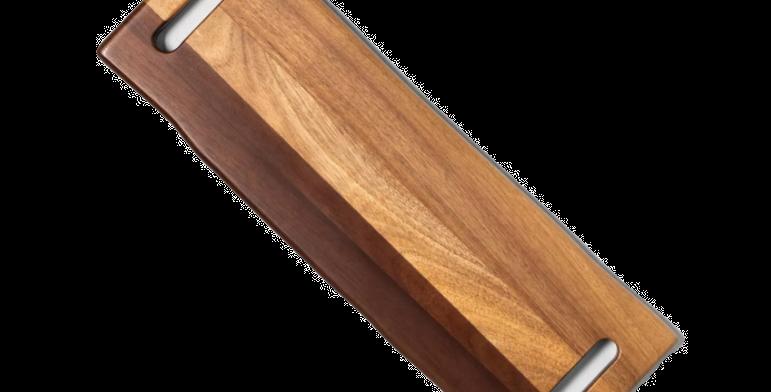 Acacia Wood Serving Tray, Small