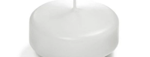 "Floating Candle, 1.75""D (Color Options Available)"