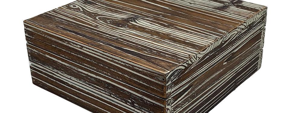 Distressed Wooden Display Riser, Medium