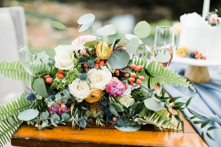 elopement floral bouquet