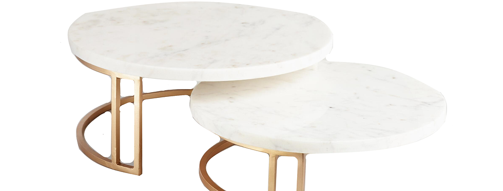 Gold+ Marble Cake Stands