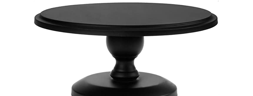 Cake Stand, Black